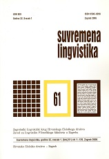 Hungarianisms in the Speech of Goričan Cover Image