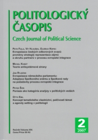 Issue Ownership, Issue Salience and Agenda Setting in Political Science Cover Image