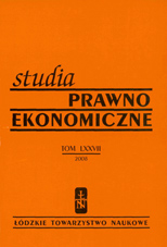 Trends in Polish organic farming in new economic and financial conditions Cover Image