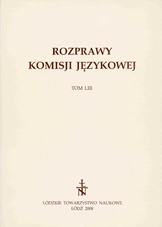Prepositions gwoli, zgwoli, skirz in Silesian dialects Cover Image
