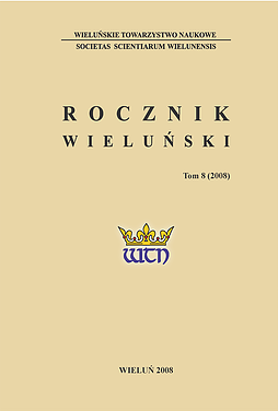 Sumnik of rights and privileges of the city of Wieluń from 1781 Cover Image