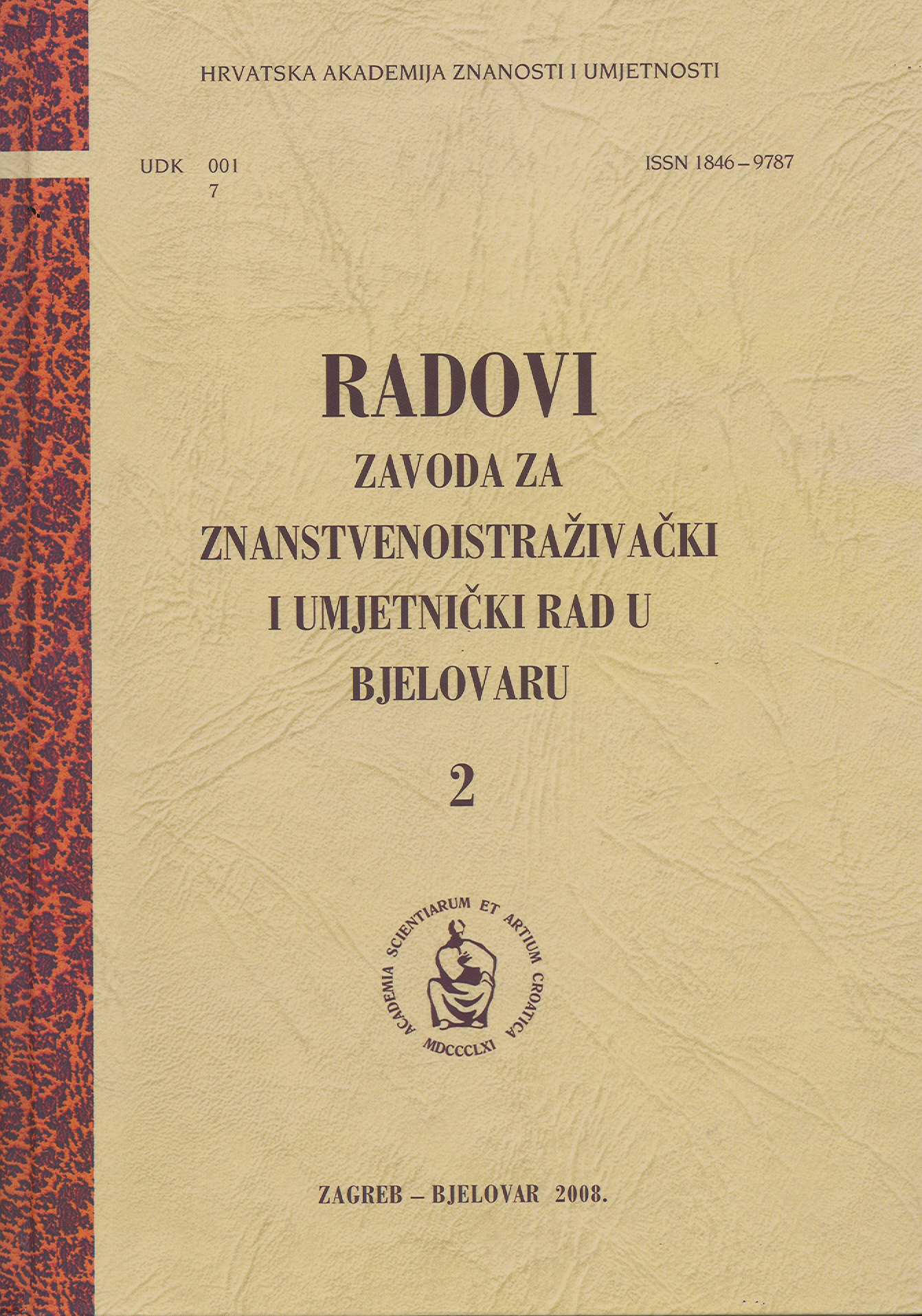 The Beginning of Democracy – Democratic Elections in the Bjelovar Municipality in 1990 Cover Image