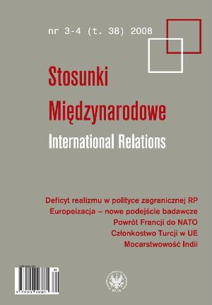 Europeanization – new analytical approaches in research into foreign policy Cover Image