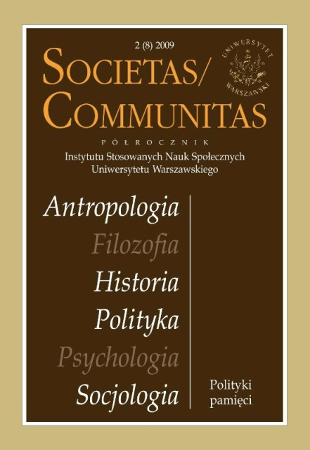 Żydokomuna [Yid-Communism]. Outline of Sociological Analysis of Historical Sources. Cover Image