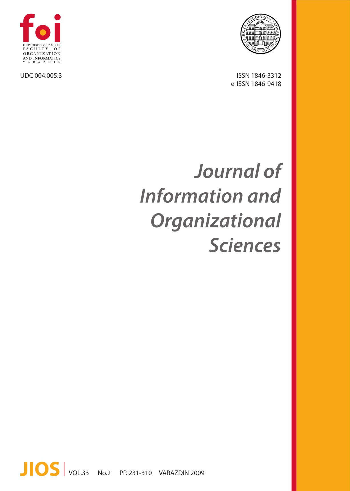 Impact Of Ict On The Structural And Contextual Organizational Elements Case Of The Varazdin County