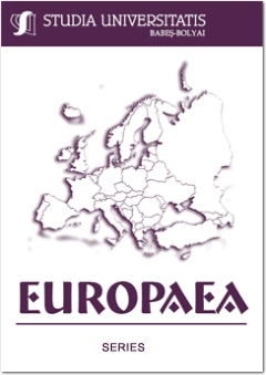 INTERCULTURAL EDUCATION IN EUROPE. CASE STUDY: INTERCULTURAL ASPECTS OF THE MINORITY EDUCATION IN TRANSYLVANIA Cover Image