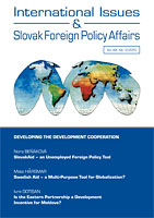 SlovakAid – an Unemployed Foreign Policy Tool Cover Image