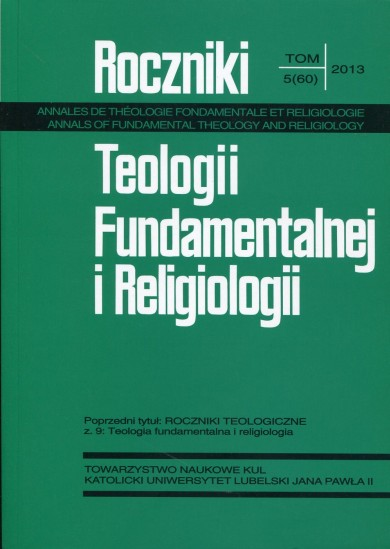 JUSTIFYING IN FUNDAMENTAL THEOLOGY  Cover Image