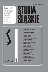 The transport system of Silesia Cover Image