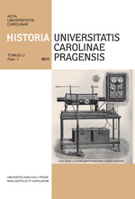 From the History of Teaching Physics for students of Medicine at the Prague Universities Cover Image
