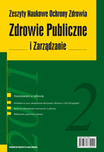 Social determinants of health status in Poland Cover Image