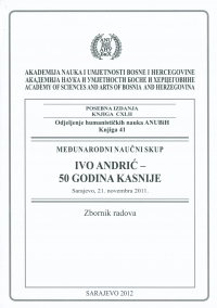 Andrić in Readers Cover Image