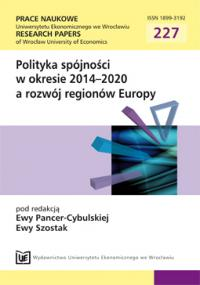 Modern paradigm of development and implementation of structural policies in the West Pomeranian region in the years 2004–2008 Cover Image