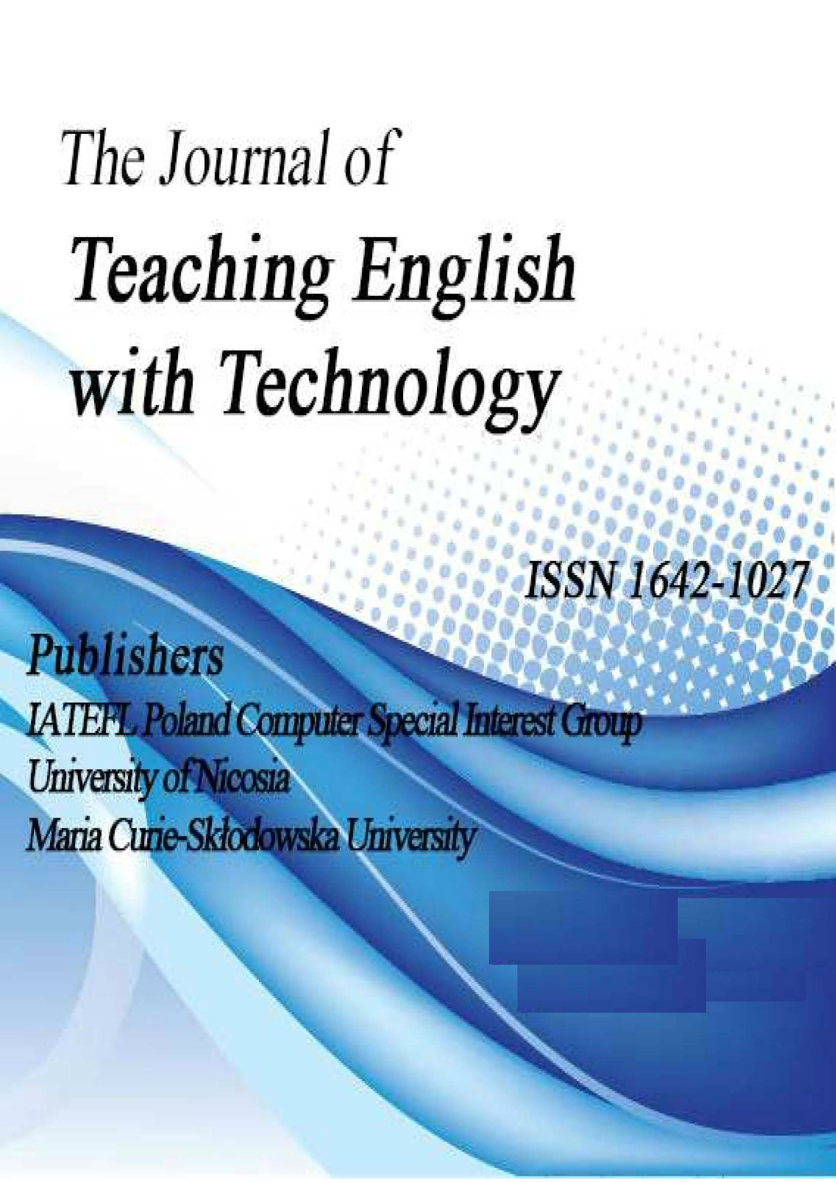 BEST PRACTICES IN USING VIDEO TECHNOLOGY TO PROMOTE SECOND LANGUAGE ACQUISITION Cover Image