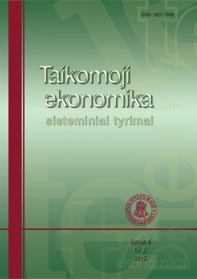 Evaluation of Lithuanian Tax System Effectiveness Cover Image