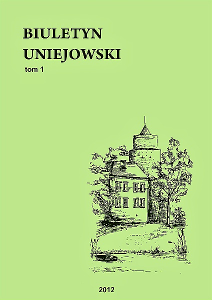 Some reflections on the development of Uniejów in the light of new functions of the town Cover Image