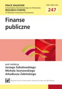Public finance in Poland vs. support for agriculture Cover Image