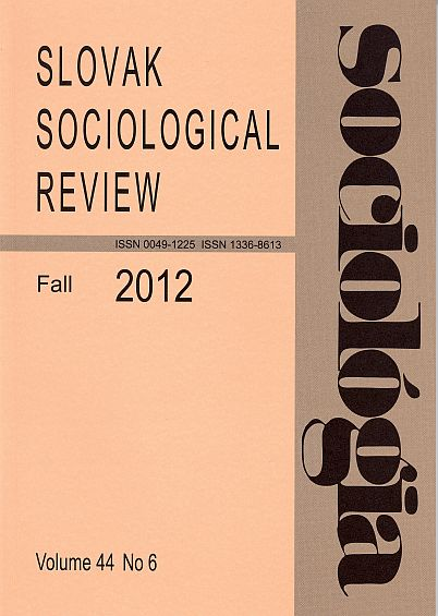 Is Current Czech Society a Social Class-Based Society? The Validity of EGP and ESeC Class Schemes. Cover Image