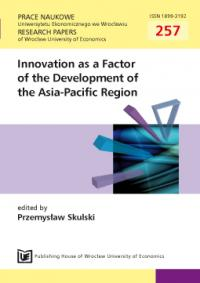 Innovativeness and development in the economies of Japan, Korea and China. A comparative approach Cover Image