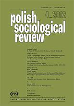 """Social Embeddedness"" Viewed from an Institutional Perspective. Revision of a Core Principle of New Economic Sociology with Special Regard to Max Webe"