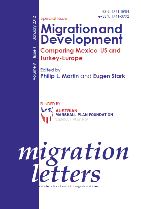 Turkish culture of migration: Flows between Turkey and Germany, socio-economic development and conflict Cover Image