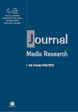 Theoretical considerations regarding the specifics of qualitative content analysis of media content Cover Image