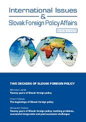 Twenty years of Slovak foreign policy Cover Image