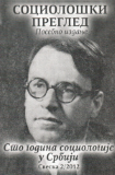 THE SOCIOLOGICAL PHASE ON THE INTELLECTUAL PATH OF MIHAILO DJURIĆ Cover Image