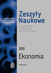 The Role of Foreign Direct Investment in the Development of Polish Economic Relations with Other Countries in the Years 2004–2009 Cover Image