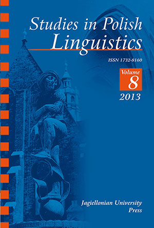 Augmentative and evaluative morphemes super(-), ekstra(-), mega(-) and hiper(-) in Polish – a corpus-based analysis Cover Image