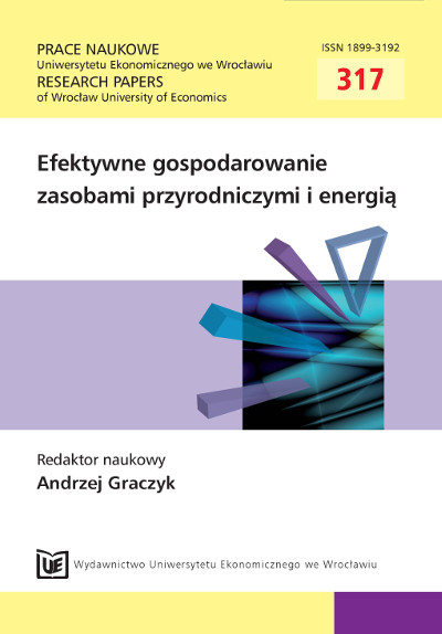 Management of water resources in Lodz Voivodeship for water-power engineering needs Cover Image