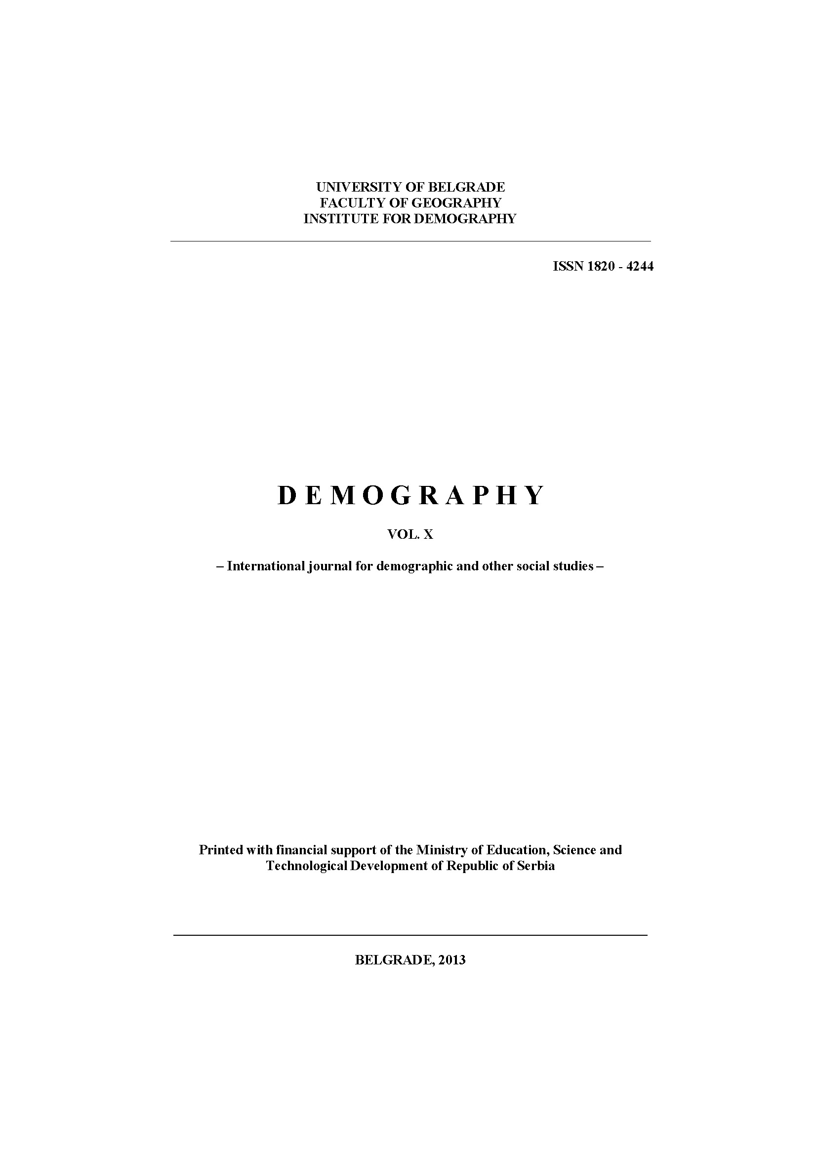 Demographics of France - Historical Analysis and Contemporary State Cover Image