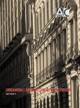 Importance of environmental analysis for a sustainable urban project. Berzei – Plevnei – Ştirbei Vodă area Cover Image