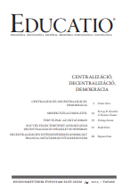 Centralization or decentralization in the public education in the 1980s Cover Image