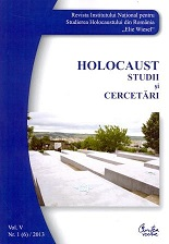 Unconventional representations of Romanian Holocaust Cover Image