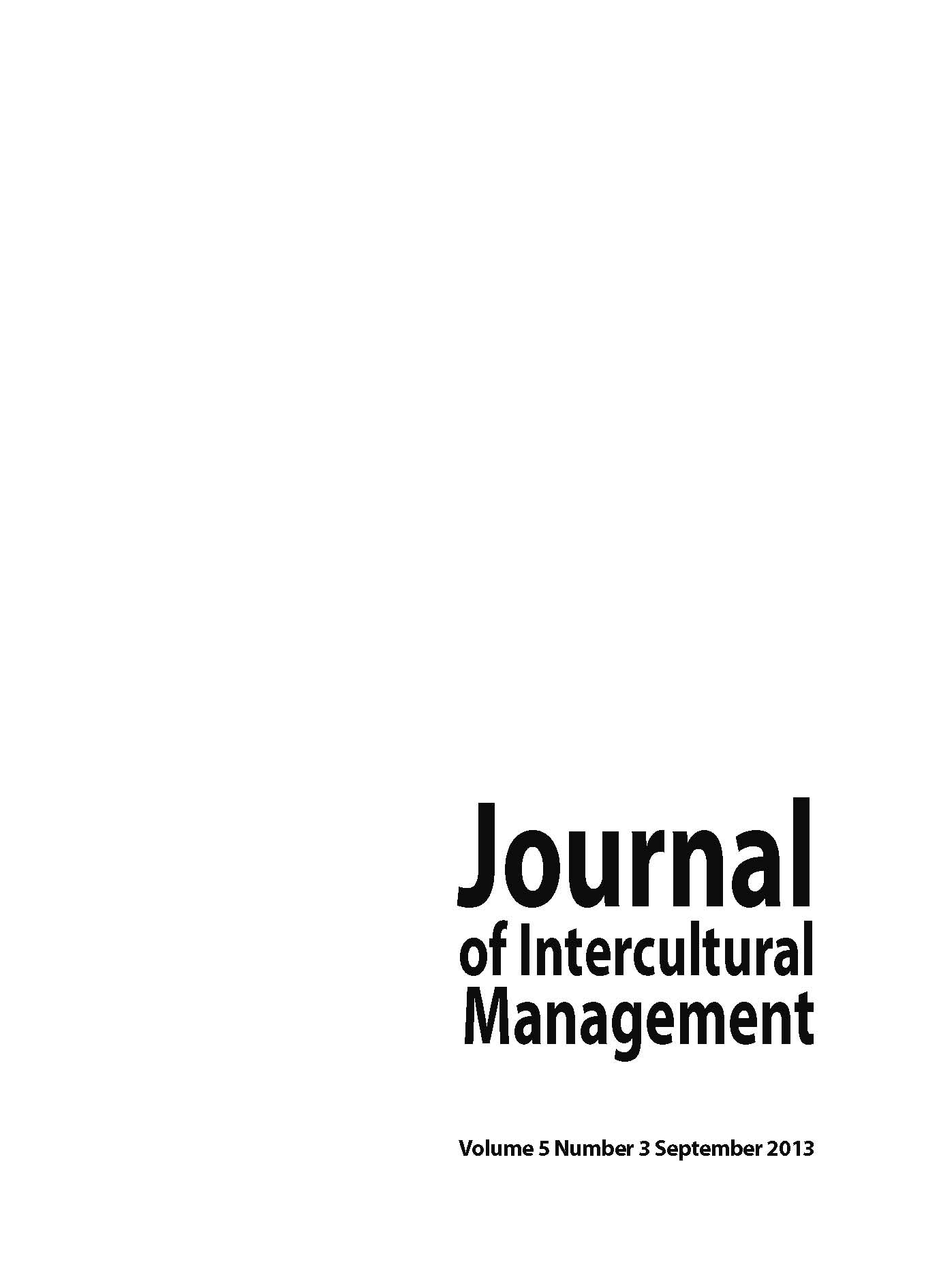 A Phenomenological Study of Employee Perceptions of Managerial Behaviors as Personal Enactments of Organizational Culture Cover Image