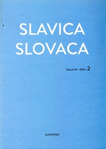 Morphological Features of Interlingual Homonyms in Contemporary Slavic Languages Cover Image