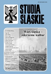 Identity stigmatized by cultural difference – Upper Silesia according to Kazimierz Kutz (Silesian triptych, The fifth part of the world) Cover Image