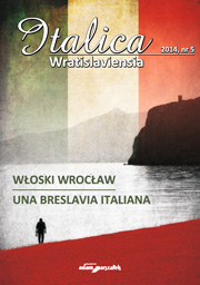 Notes on the name Wrocław in its historical and contemporary as well as Polish and international aspect Cover Image