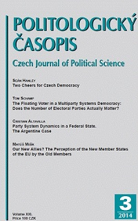 Two Cheers for Czech Democracy Cover Image