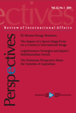 The EU-Russia Energy Relations under the Prism of the Political Discourse Cover Image