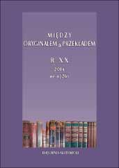 """Added value"": about translation of Polish cultural references in the French version of the novel All languages of the world  by Zbigniew Mentzel Cover Image"