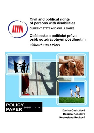 Civil and political rights of persons with disabilities - current state and challenges  Cover Image