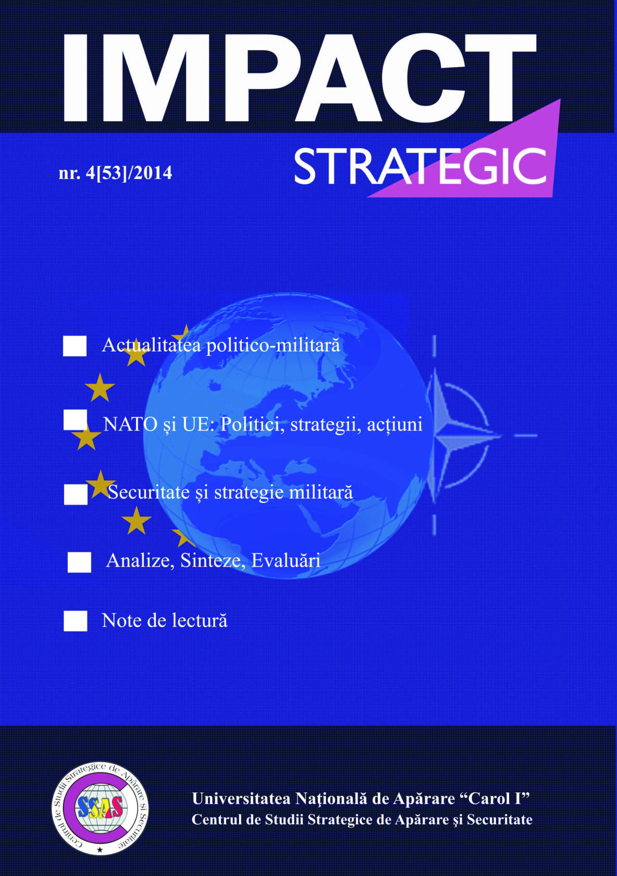 2014 NATO Summit – Future Implications Cover Image