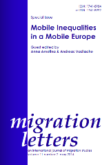 New forms of intra-European migration, labour market dynamics and social inequality in Europe Cover Image