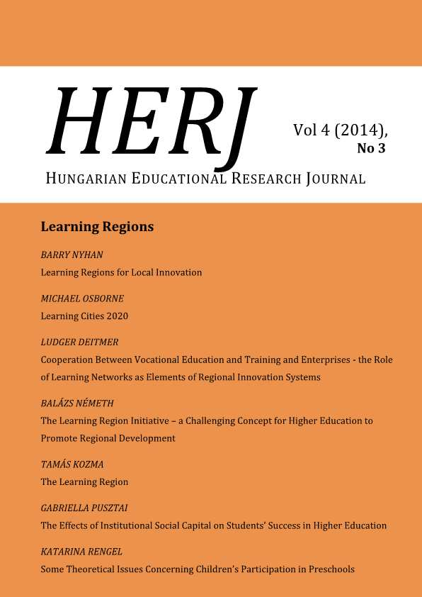 The Learning Region Cover Image