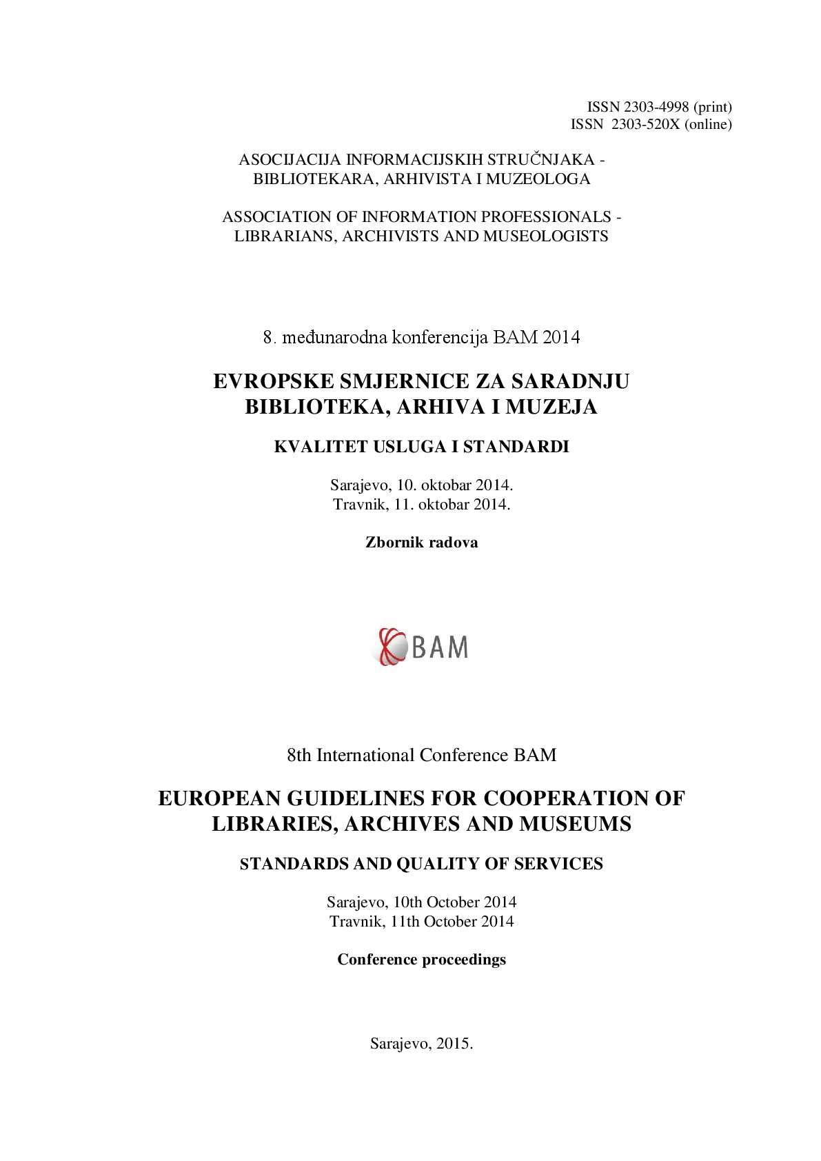 Achieving Quality and Impact for Europe's Library Collections
