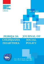 The influence of the local government on reducing youth unemployment and youth perception on the work of local authorities in the area of employment in the Jegunovce and Cair Municipality Cover Image