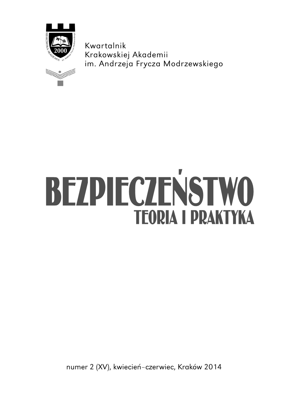 Selected elements concerning the transformation and change of the Armed Forces of the Republic of Poland