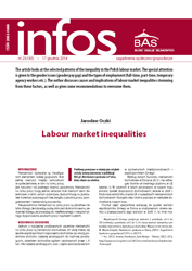 Labour market inequalities Cover Image